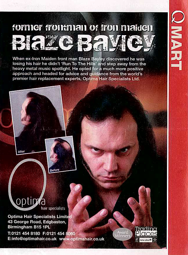 Cómo estáis amigos : el improbable topic de Blaze Bayley en los Maiden  - Página 4 Hair